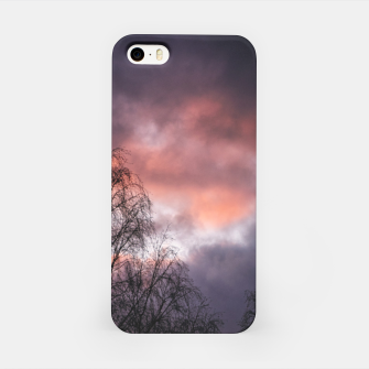 Miniatur Dark sunset iPhone Case, Live Heroes