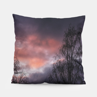 Dark sunset Pillow Bild der Miniatur