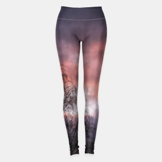 Miniatur Dark sunset Leggings, Live Heroes