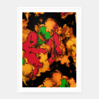 Thumbnail image of Motion detection Framed poster, Live Heroes