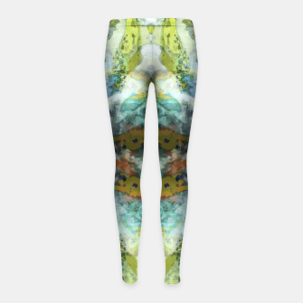 Thumbnail image of The visible ghosts Girl's leggings, Live Heroes