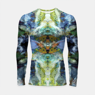 Thumbnail image of The visible ghosts Longsleeve rashguard , Live Heroes