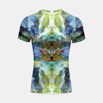 Thumbnail image of The visible ghosts Shortsleeve rashguard, Live Heroes