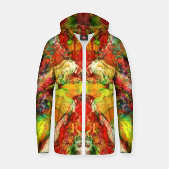 The warm hypnosis Zip up hoodie thumbnail image