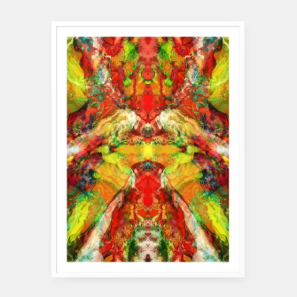 Thumbnail image of The warm hypnosis Framed poster, Live Heroes