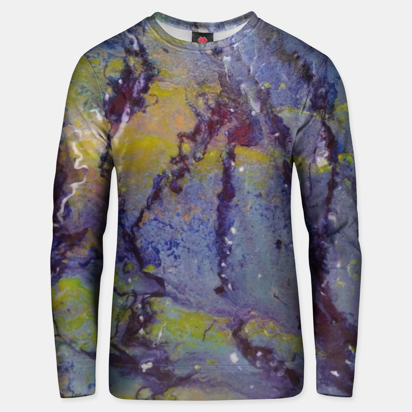Image of fara nume Unisex sweater - Live Heroes