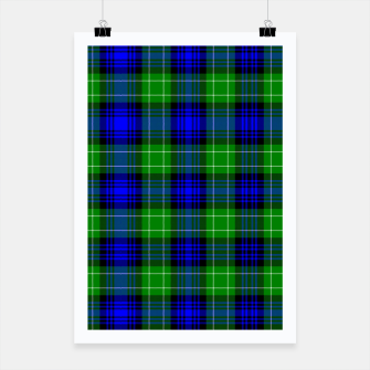 Thumbnail image of Abercrombie Tartan Poster, Live Heroes