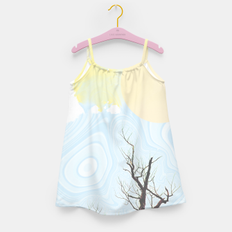 Thumbnail image of Trees and colourful sky Girl's dress, Live Heroes