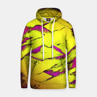 Fractured anger yellow Hoodie thumbnail image