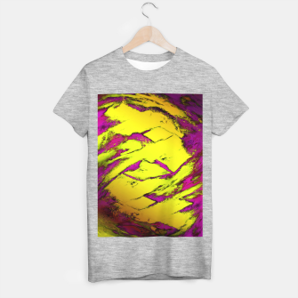 Fractured anger yellow T-shirt regular thumbnail image