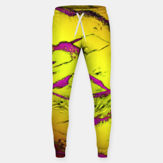 Fractured anger yellow Sweatpants thumbnail image