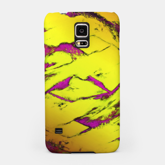 Fractured anger yellow Samsung Case thumbnail image