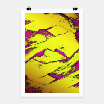 Fractured anger yellow Poster thumbnail image