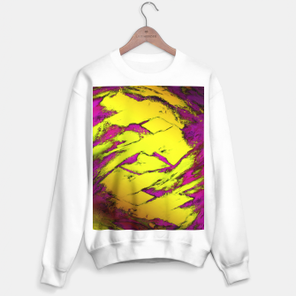 Thumbnail image of Fractured anger yellow Sweater regular, Live Heroes