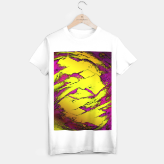 Thumbnail image of Fractured anger yellow T-shirt regular, Live Heroes