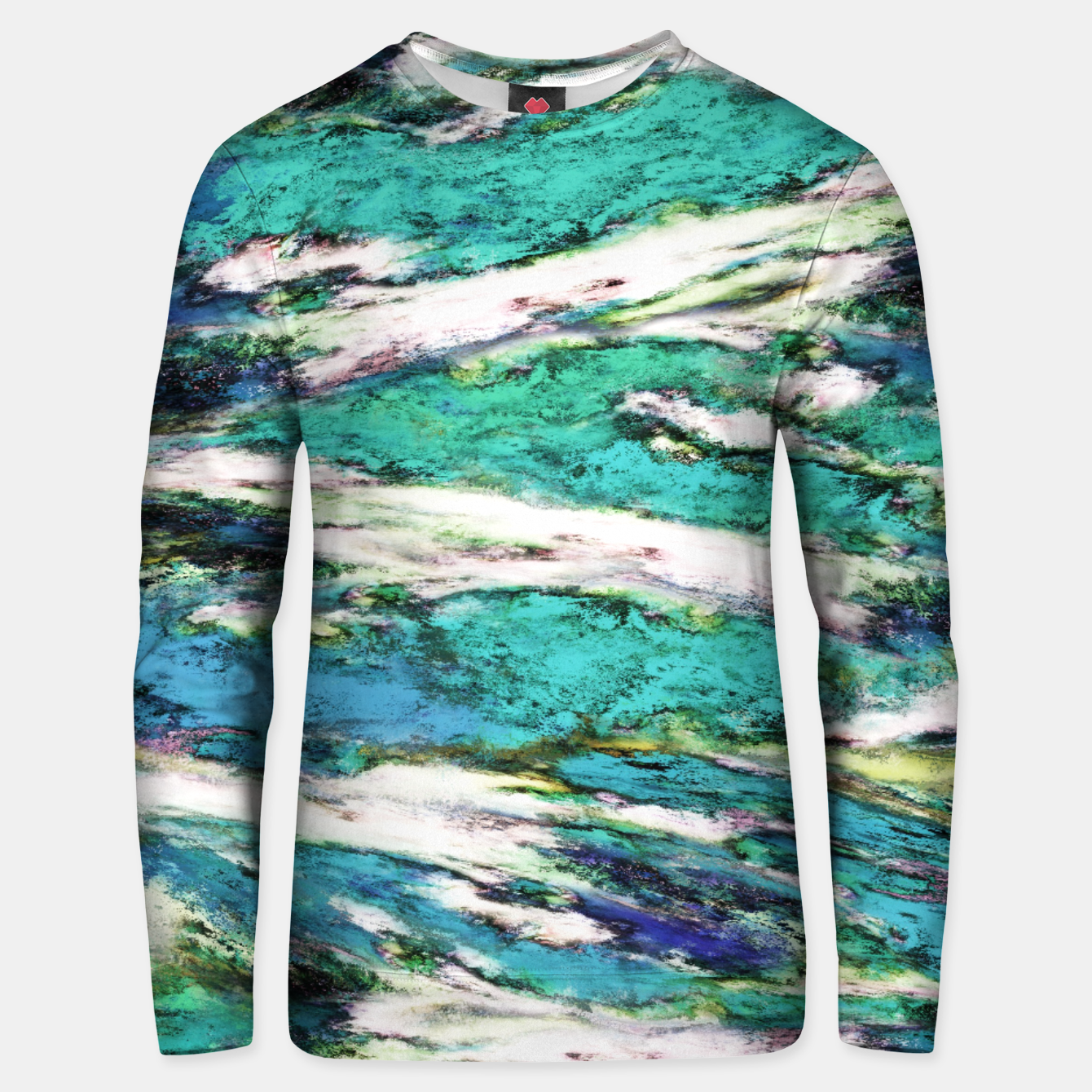 Image of Falling through difficult layers 2 Unisex sweater - Live Heroes