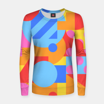 Thumbnail image of Geometric pattern Pull femme , Live Heroes