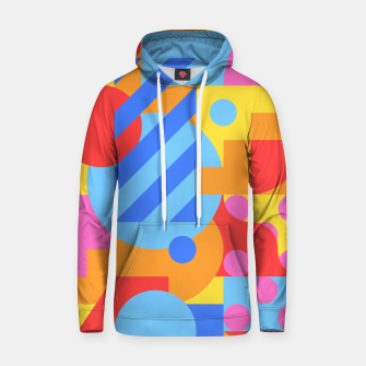 Thumbnail image of Geometric pattern Sweat à capuche , Live Heroes