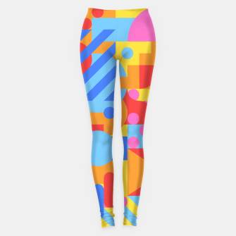 Thumbnail image of Geometric pattern Leggings, Live Heroes