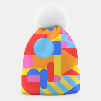 Thumbnail image of Geometric pattern Bonnet, Live Heroes