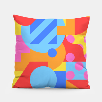 Thumbnail image of Geometric pattern Coussin, Live Heroes