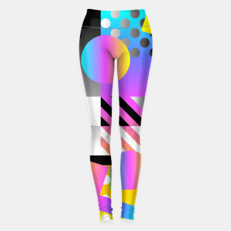 Thumbnail image of Abstric Leggings, Live Heroes