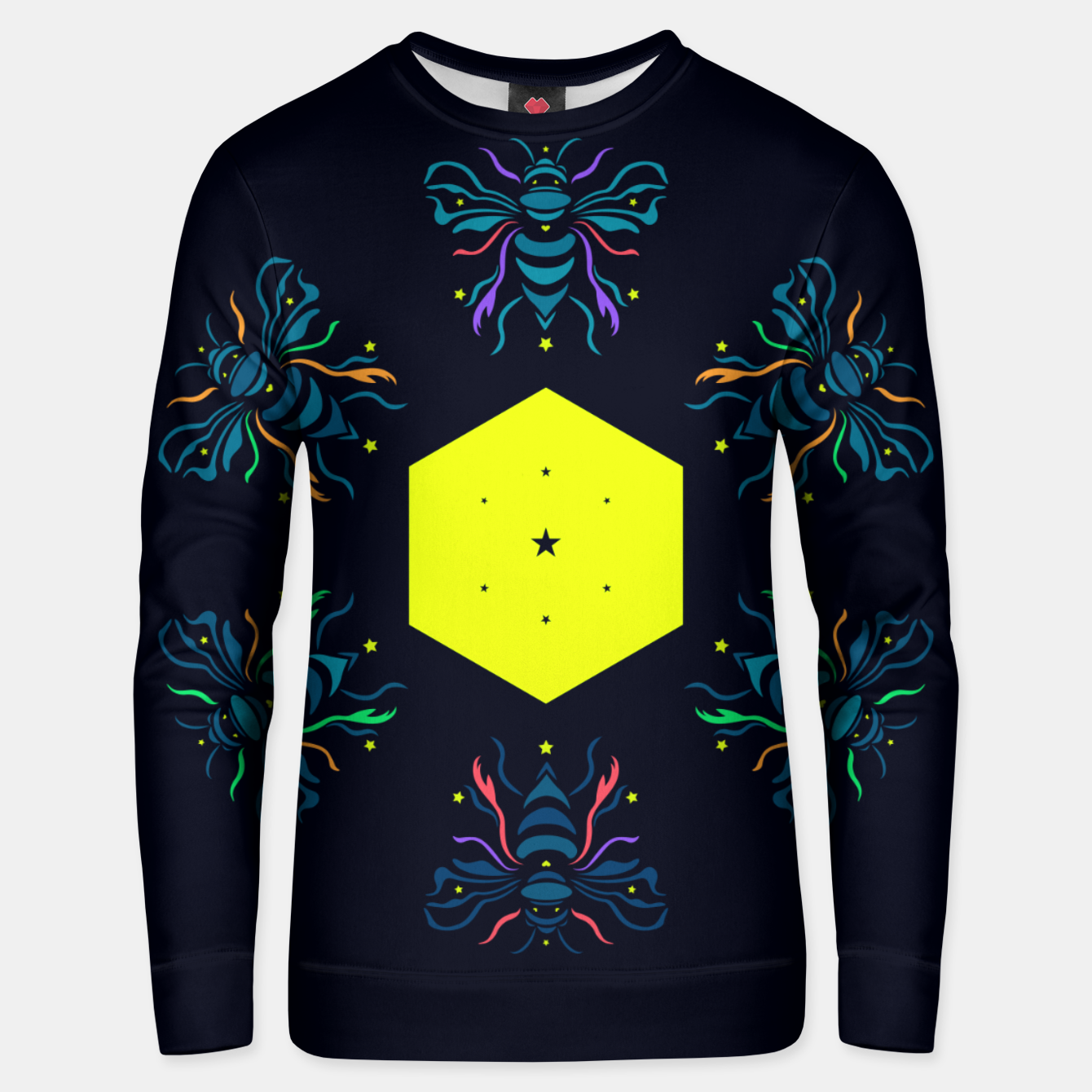Image of Bee the future by #Bizzartino Unisex sweater - Live Heroes