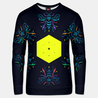 Thumbnail image of Bee the future by #Bizzartino Unisex sweater, Live Heroes