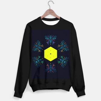 Thumbnail image of Bee the future by #Bizzartino Sweater regular, Live Heroes