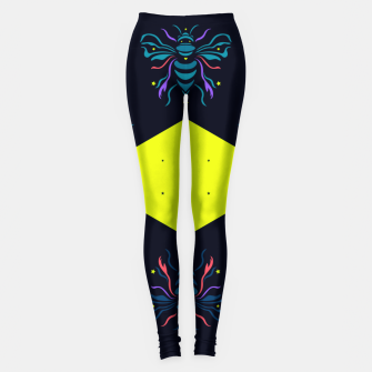 Thumbnail image of Bee the future by #Bizzartino Leggings, Live Heroes