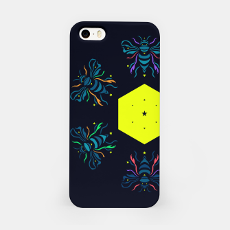 Thumbnail image of Bee the future by #Bizzartino iPhone Case, Live Heroes