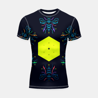 Bee the future by #Bizzartino Shortsleeve rashguard thumbnail image
