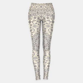 Thumbnail image of Traditional Moroccan Artwork Farmhouse Style  Leggings, Live Heroes