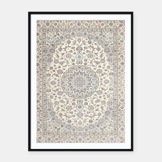 Thumbnail image of Traditional Moroccan Artwork Farmhouse Style  Framed poster, Live Heroes