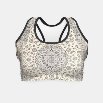 Miniaturka Traditional Moroccan Artwork Farmhouse Style  Crop Top, Live Heroes