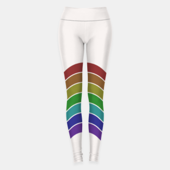 Thumbnail image of Retro Rainbow Leggings, Live Heroes