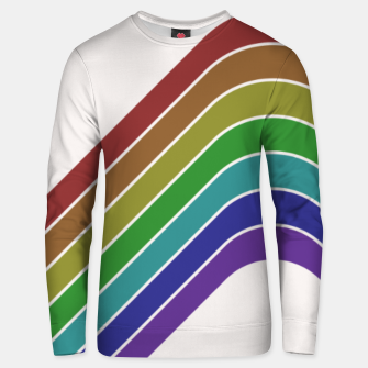 Thumbnail image of Retro Rainbow  Unisex sweater, Live Heroes