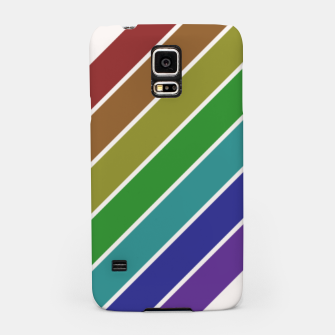 Thumbnail image of Retro Rainbow  Samsung Case, Live Heroes