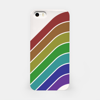 Thumbnail image of Retro Rainbow  iPhone Case, Live Heroes
