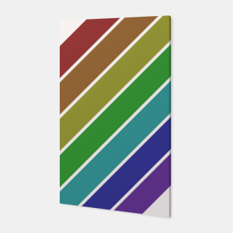 Thumbnail image of Retro Rainbow  Canvas, Live Heroes