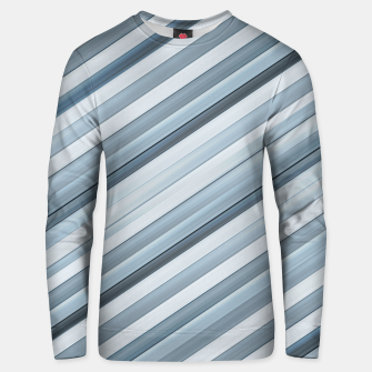 Miniatur Modern Tech Stripes Pattern Unisex sweater, Live Heroes
