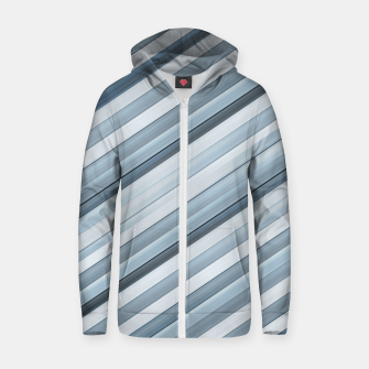 Miniatur Modern Tech Stripes Pattern Zip up hoodie, Live Heroes