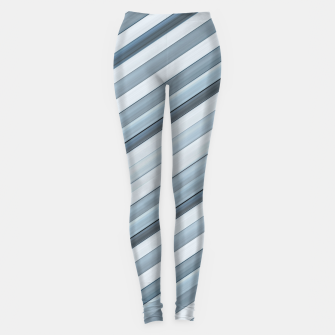 Miniatur Modern Tech Stripes Pattern Leggings, Live Heroes