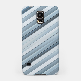 Miniatur Modern Tech Stripes Pattern Samsung Case, Live Heroes