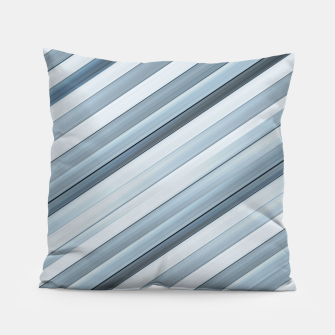 Miniatur Modern Tech Stripes Pattern Pillow, Live Heroes