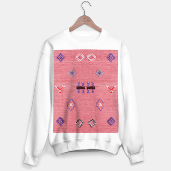Thumbnail image of Pink Boho Oriental Traditional Moroccan Style Sweater regular, Live Heroes