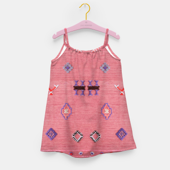 Thumbnail image of Pink Boho Oriental Traditional Moroccan Style Girl's dress, Live Heroes