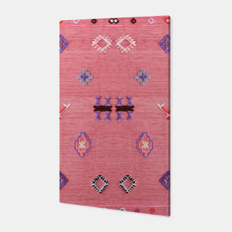 Thumbnail image of Pink Boho Oriental Traditional Moroccan Style Canvas, Live Heroes
