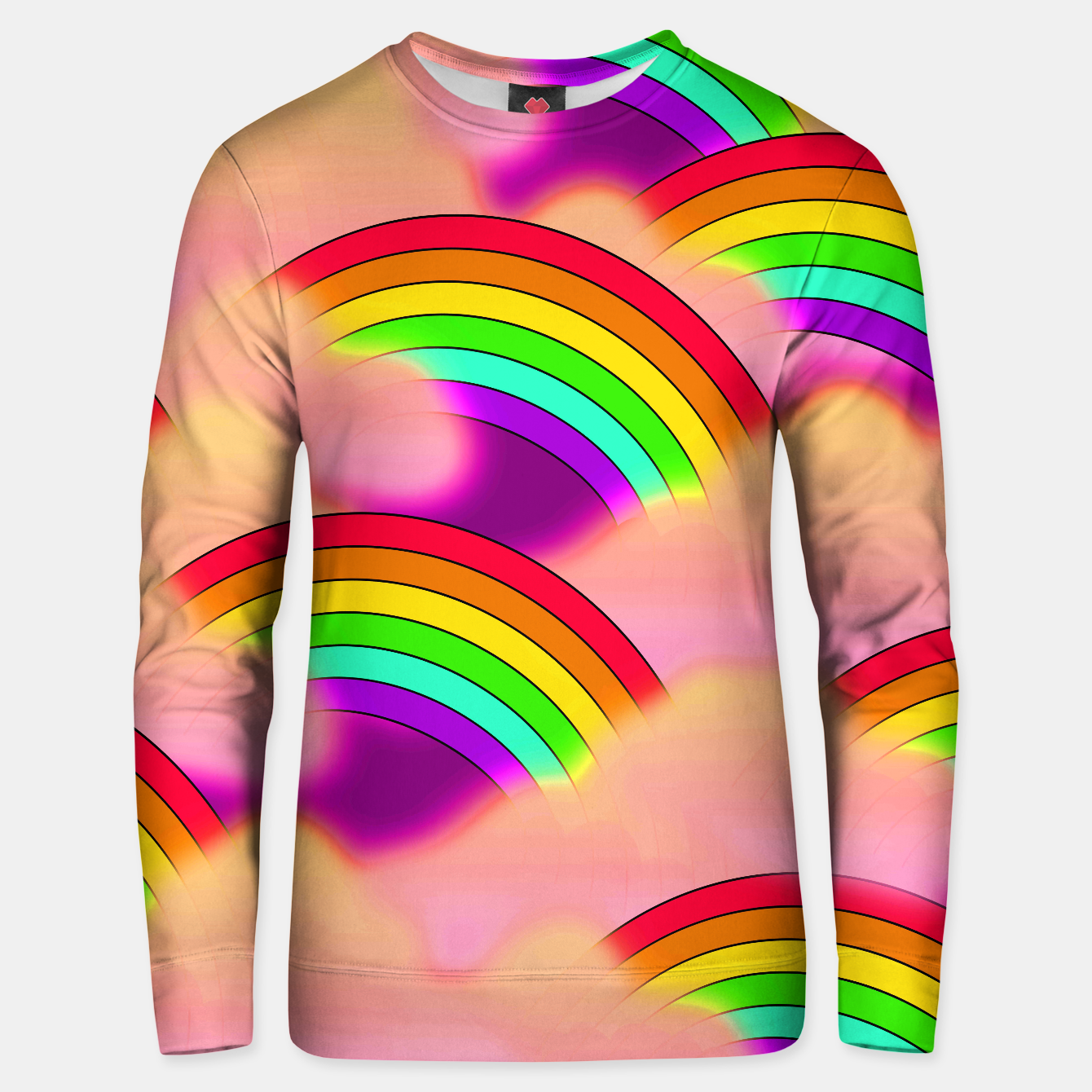 Image of Rainbow blast sweater - Live Heroes
