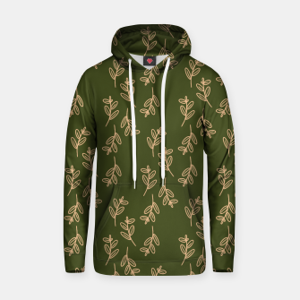 Thumbnail image of Feeling of lightness Pattern II - Pine needle green Hoodie, Live Heroes